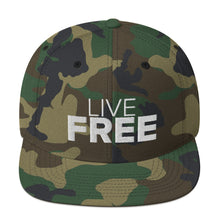 Load image into Gallery viewer, Live Free Snapback