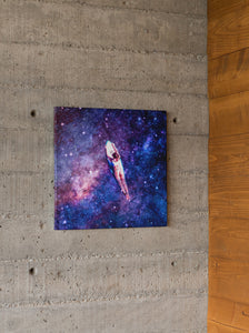 Cosmic Wave Canvas