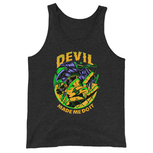 Devil Made Me Do It Men's Tank