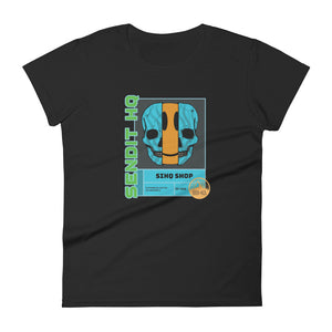 SIHQ Shop Smiles Women's Slim Tee