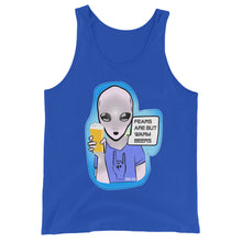 Load image into Gallery viewer, Fears Are But Warm Beers Men's Tank