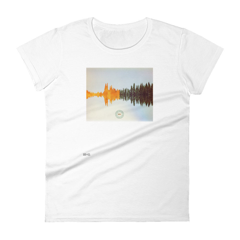 Sound of Nature Women's Slim Tee