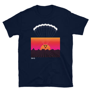 Geometric Retro Parachute Men's Tee