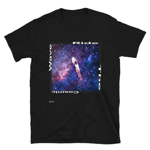 Ride The Cosmic Wave Men's Tee