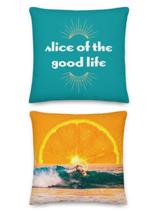 Slice of Life Pillow