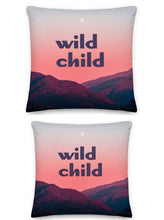 Load image into Gallery viewer, Wild Child Pillow