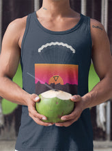 Load image into Gallery viewer, Geometric Retro Parachute Men's Tank