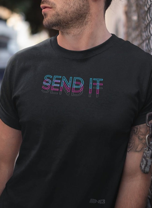 SendIt Offset Men's Tee