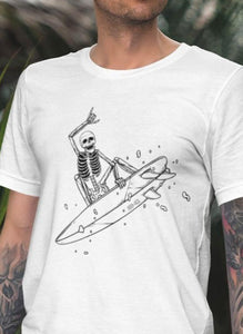 Surf Skellie B&W Men's Tee