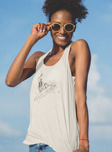 Load image into Gallery viewer, Surf Skellie B&W Women's Tank