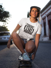 Load image into Gallery viewer, Straight Outta Woodward Women's Tee