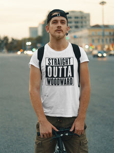 Straight Outta Woodward Men's Tee