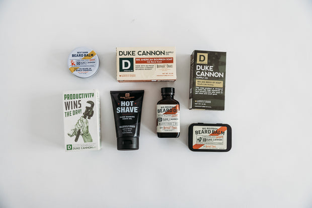 The Duke Cannon Bar Soap