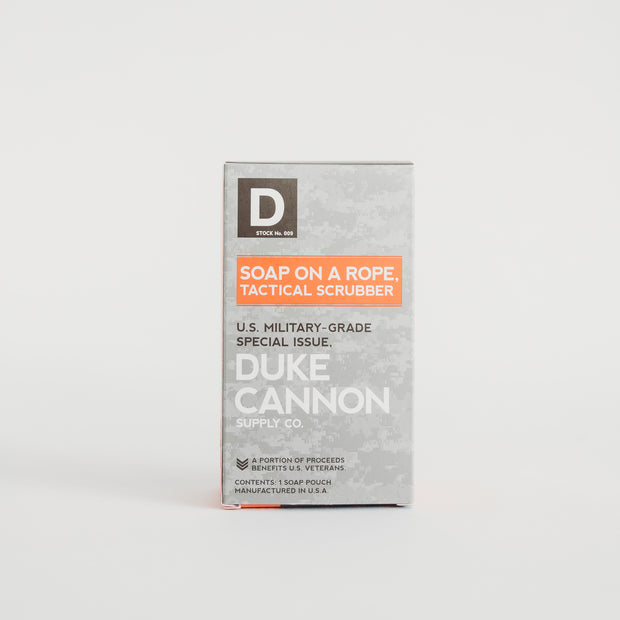 The Duke Cannon Soap on a Rope