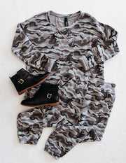 Camo Lounge Set by Bobi