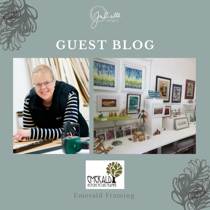 Guest Blog: Emerald Frames