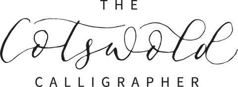 cotswold calligrapher logo