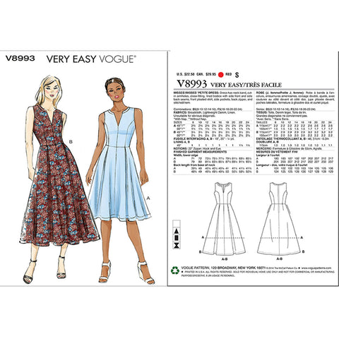 Vogue paper patterns