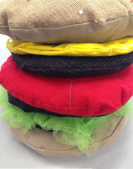 Burger yr 8 soft sculpture recycled materials
