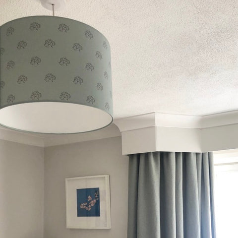 teal-lampshade-customer-interior