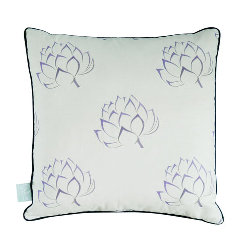 Ivory Artichoke Cushion