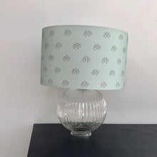 Load image into Gallery viewer, Teal Artichoke Lampshade
