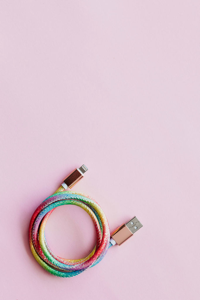 IPHONE CABLE / RAINBOW