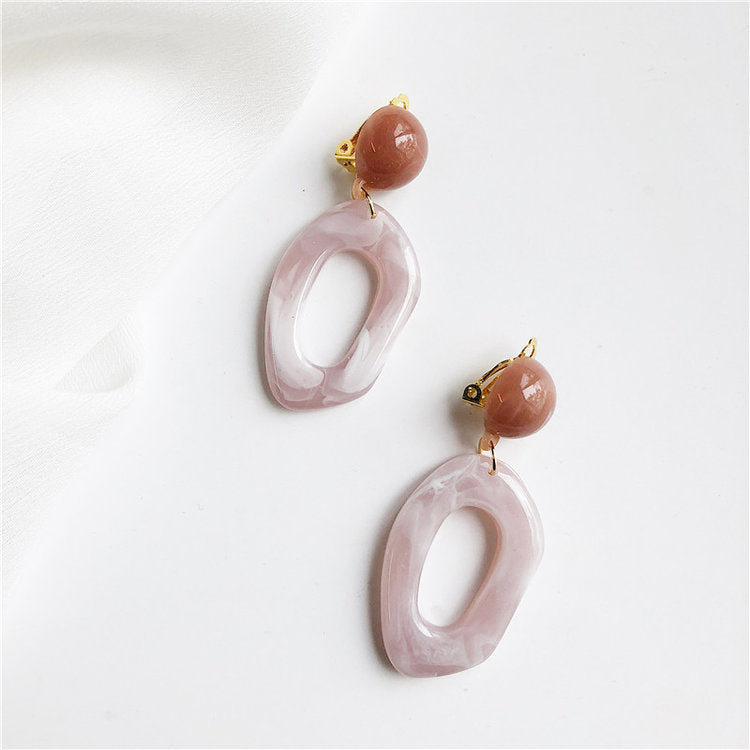 CINDY / PINK RESIN DROPS