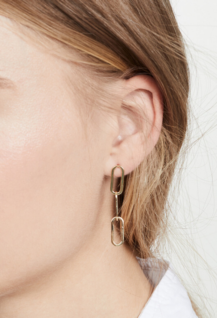 ZAZA / LINK DROP EARRINGS