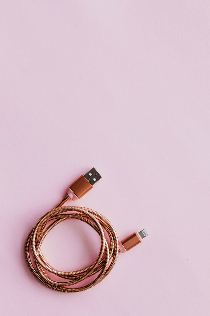IPHONE CABLE / ROSE GOLD