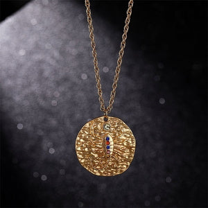 Gold Zodiac Star Sign Pendants