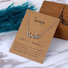 Load image into Gallery viewer, Zodiac Star Sign Necklace