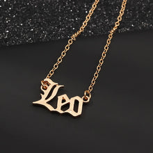 Load image into Gallery viewer, Leo star sign jewellery necklace horoscope