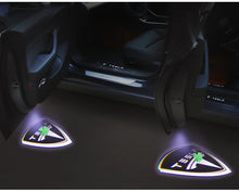 Load image into Gallery viewer, Model 3/Y: Tesla Logo LED Puddle Lights (2 pieces)