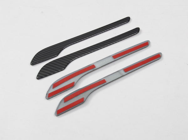 Model 3/Y: Carbon Fiber Door Handle Trims (4 PCs)