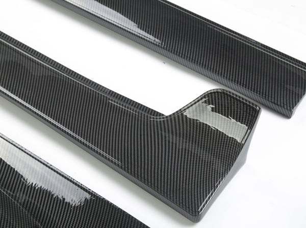 Model 3: Carbon Fiber Side Skirt Kit
