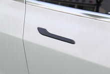 Load image into Gallery viewer, Model 3/Y: Carbon Fiber Door Handle Trims (4 PCs)