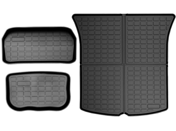 Model Y: Frunk & Trunk Mats Set (TPE-O Rubber, 3 PCs)