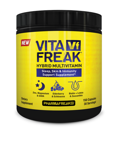 NEW VITA FREAK SLEEP - 150 Veggie Capsules - NOW AVAILABLE!
