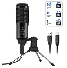 Load image into Gallery viewer, 2 Pack Bundle - USB Microphone for Laptop and Desktop Computer