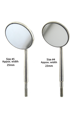 Stainless Steel Front Surface Mirrors - 12 per case
