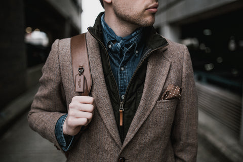 Layers of clothing. Cardigan, jacket, denim jacket for fall style guide.
