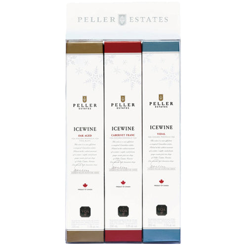 icewine giftbox peller estate winery - dessertwijn
