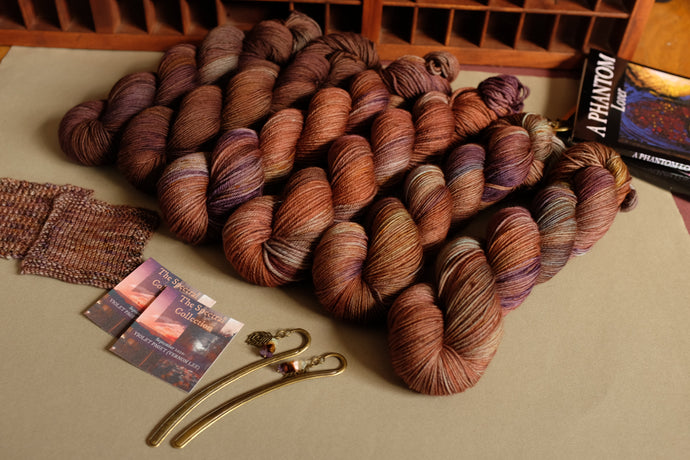 Vernon Lee is Violet Paget: September's Spectral Collection yarn club inspiration