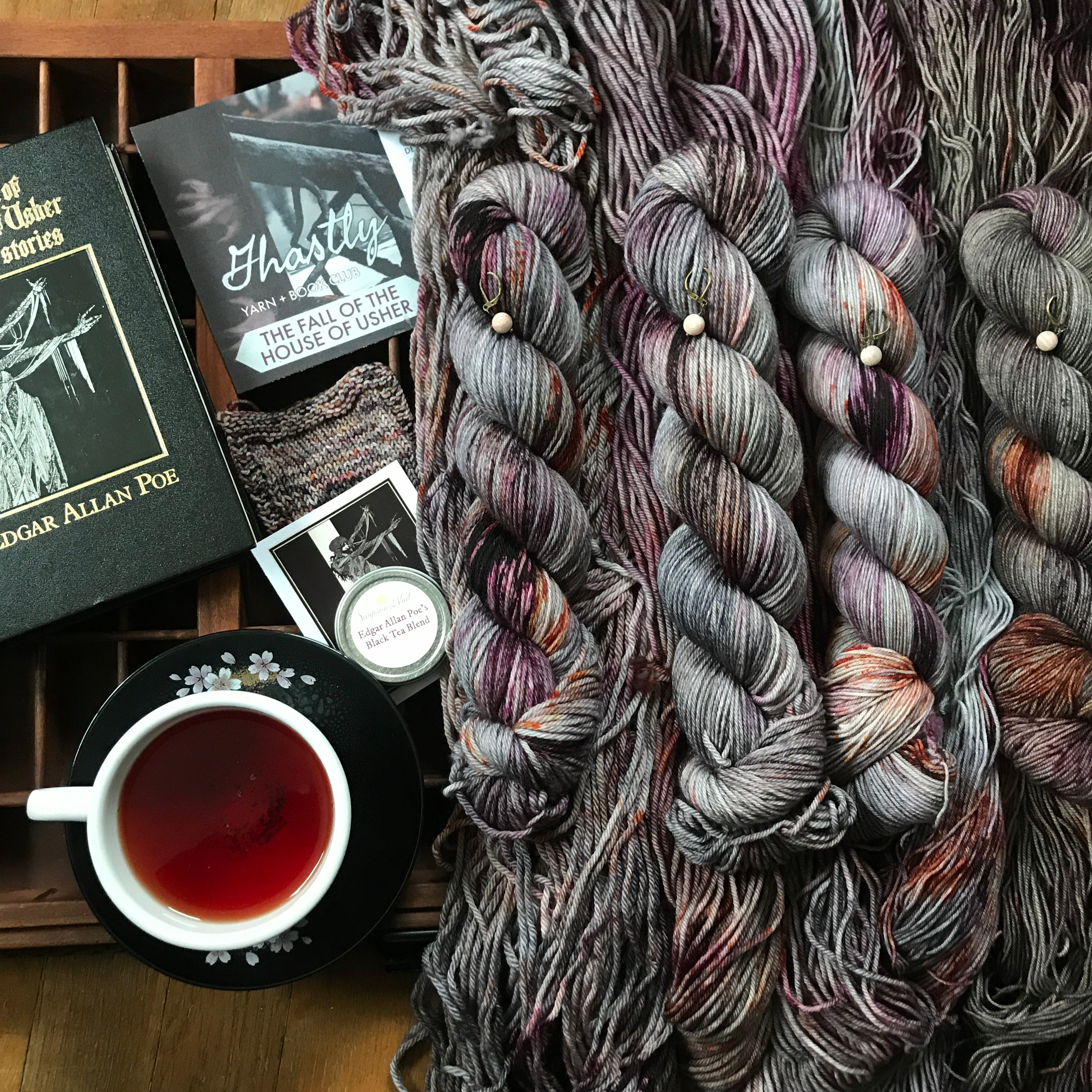 The Fall of the House of Usher yarn club