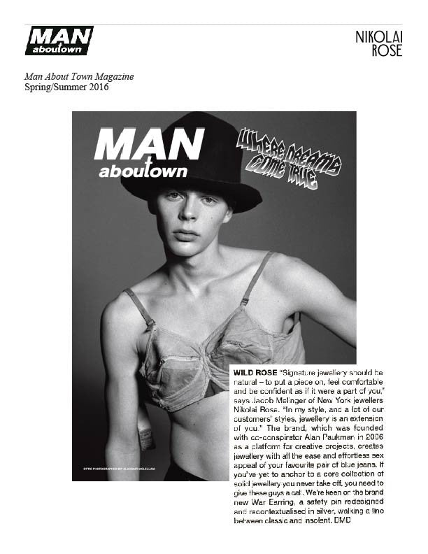 Man About Town Magazine, Spring/Summer 2016