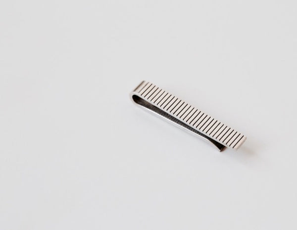 Groove Tie Bar - OfaKind.com