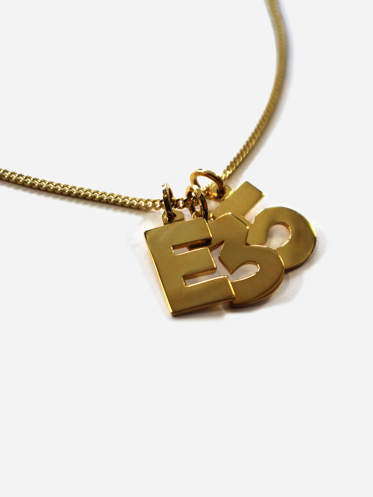 E 35 Pendant Necklace