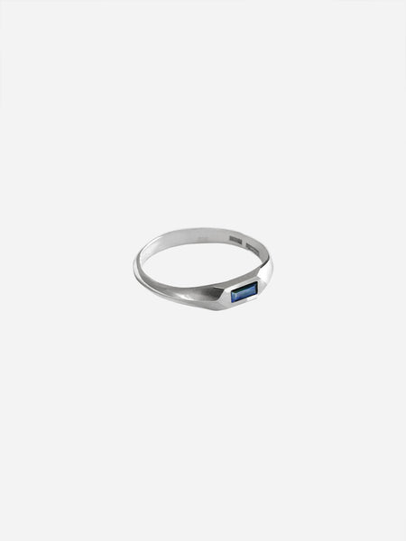 Sapphire Hex Ring