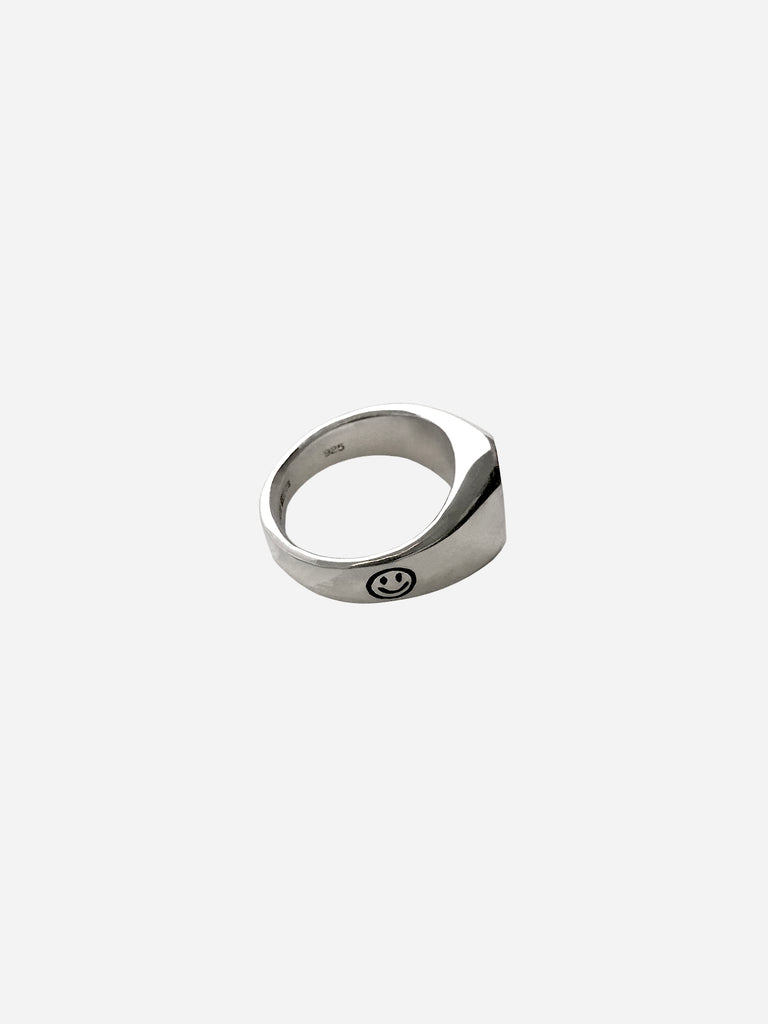 Side Smiley Ring